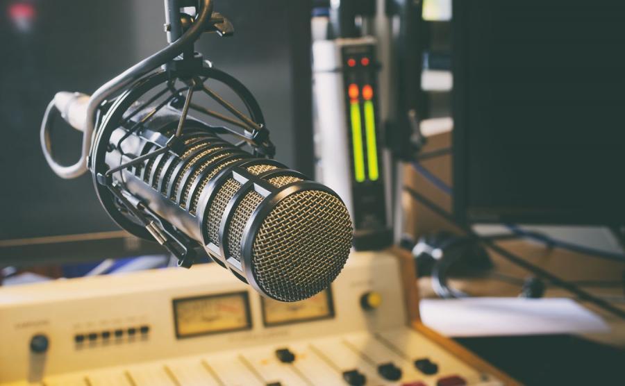 Studio radiowe, zdjęcie ilustracyjne