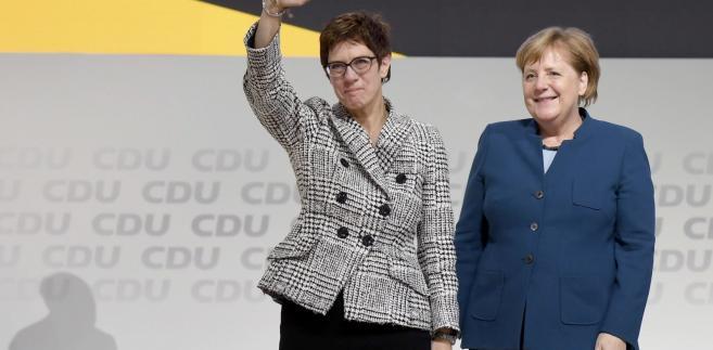 Kramp-Karrenbauer, nazywana przez niemieckie media AKK, uzyskała 517 głosów.