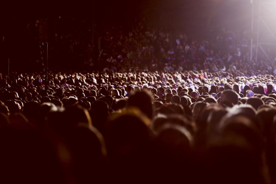 tłum, koncert, zgromadzenie, impreza masowa