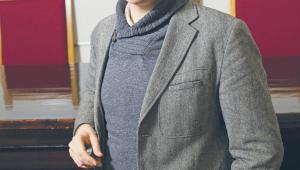 dr Mateusz Woiński, karnista, zastępca dyrektora Kolegium Prawa Akademii Leona Koźmińskiego fot. Bartek Molga