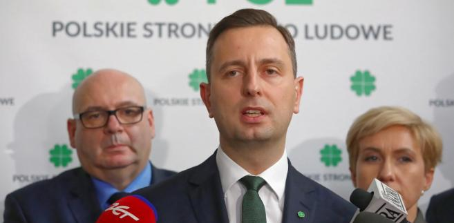 """Na pytanie, czy nie obawia się przejścia posłów PSL do PO, Kosiniak-Kamysz powiedział, że """"takich obaw nie ma""""."""