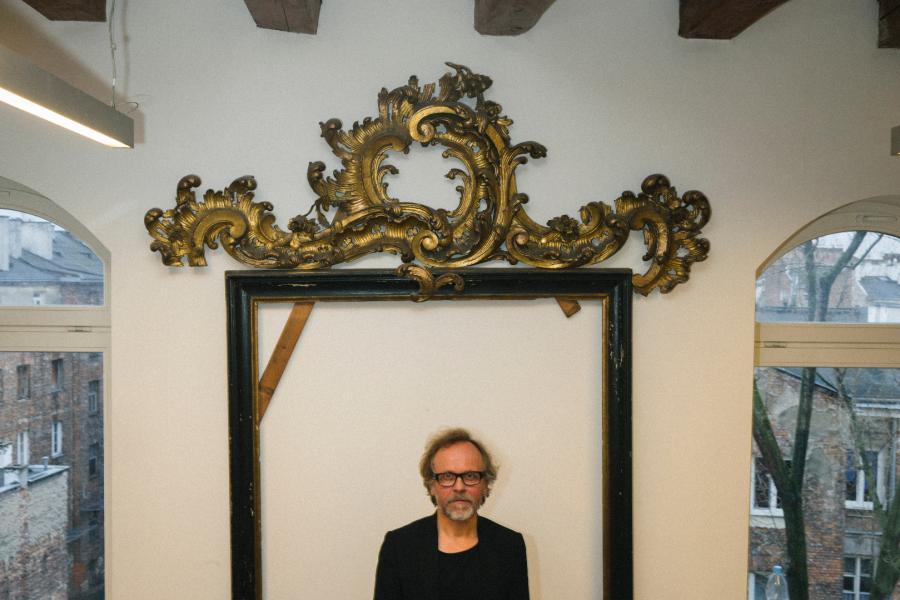 Mirosław Nizio, artysta rzeźbiarz, for. Maksymilian Rigamonti