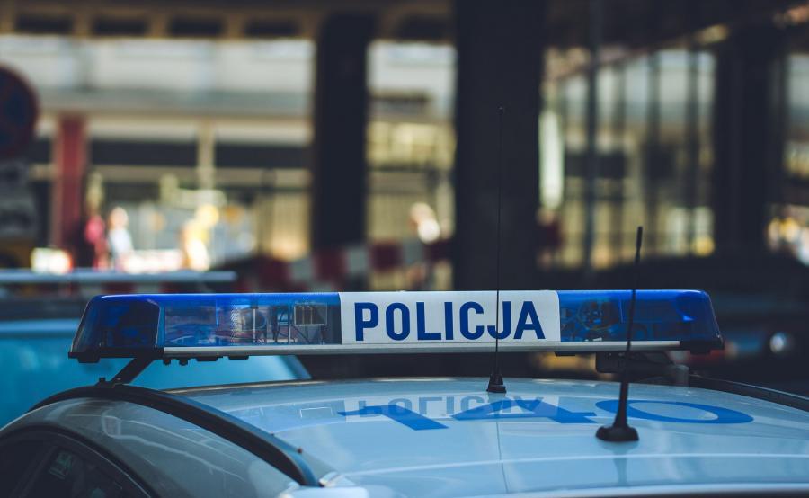 Radiowóz, polska policja