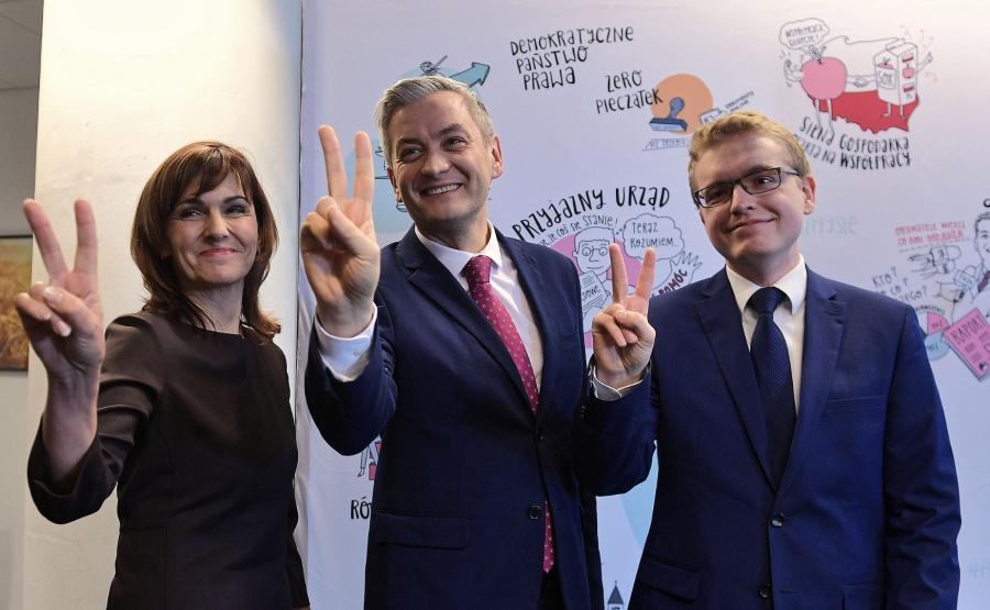 Robert Biedroń, Gabriela Morawska-Stanecka, Dariusz Standerski