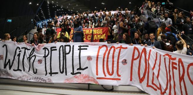 COP24  - manifestacja organizacji ekologicznych