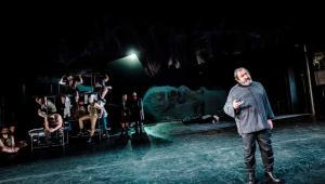 Burza,Teatr Narodowy, Mariusz Benoit (Ariel/Kaliban), fot. Krzysztof Bieliński
