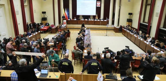 Obrady Rada Warszawy