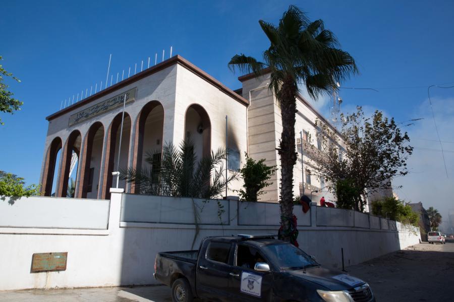 siedziba MSZ w Libii
