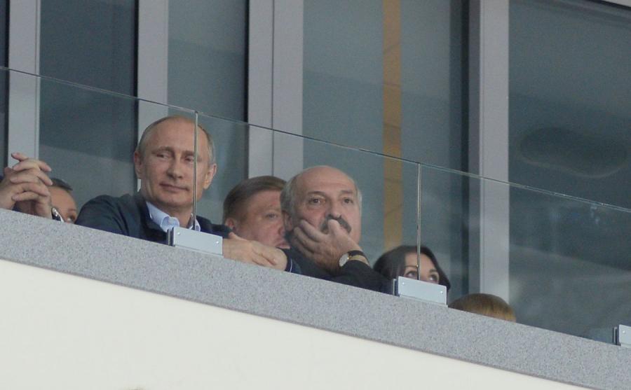 Władimir Putin i Aleksander Łukaszenka