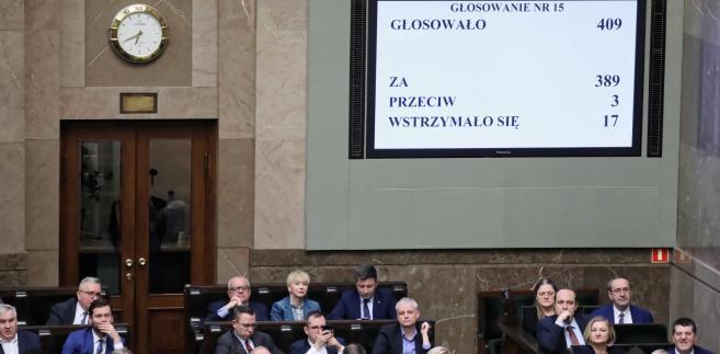 Tak wyglądał rok 2018 w Sejmie: Podsumowanie najważniejszych przyjętych ustaw