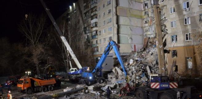 Wśród przyczyn tragedii Komitet Śledczy Federacji Rosyjskiej, jako najbardziej prawdopodobny, rozpatruje wybuch gazu.