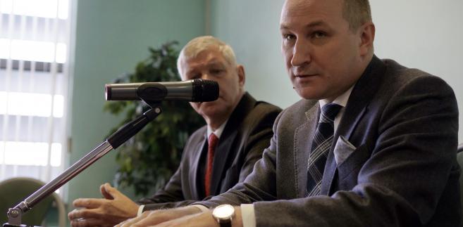 Profesor Maciej Szpunar z Wydziału Prawa i Administracji Uniwersytetu Śląskiego