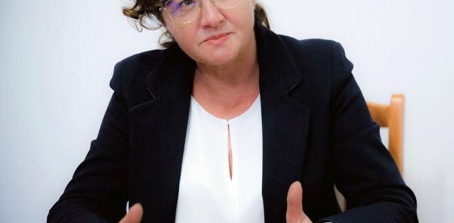 Dorota Gardias, przewodnicząca Rady Dialogu Społecznego oraz Forum Związków Zawodowych fot. Wojtek Górski