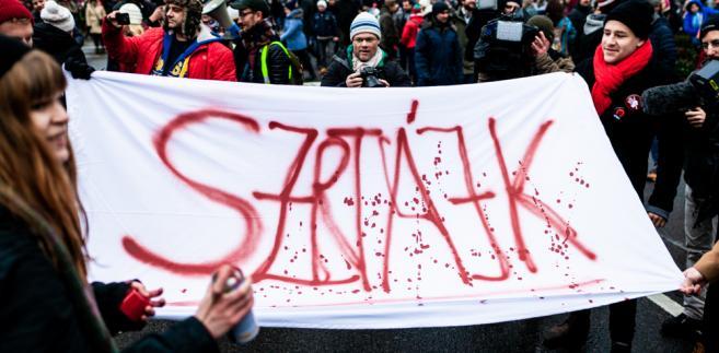 Protest na Węgrzech