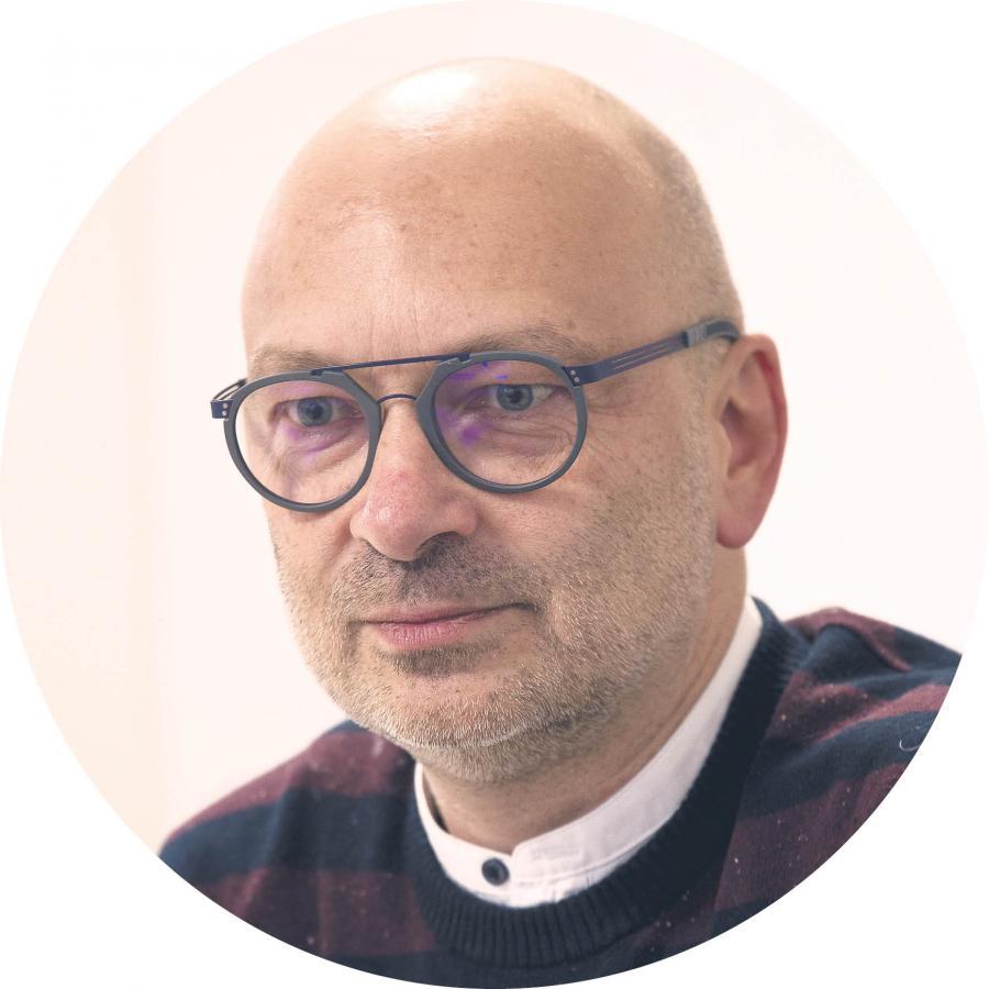 Mariusz Panek, szef Środowiskowego Centrum Zdrowia Psychicznego dla Dzieci i Młodzieży w Wieliczce