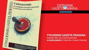 Tygodnik Gazeta Prawna z 18 stycznia 2019 r.