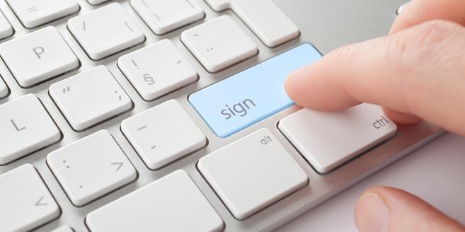 Spór o podpis elektroniczny. Jak podpisać e-sprawozdanie finansowe?