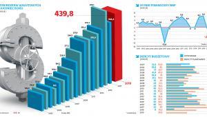 Stan rezerw walutowych na koniec roku