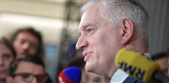 Były minister sprawiedliwości, obecny wicepremier i minister nauki Jarosław Gowin
