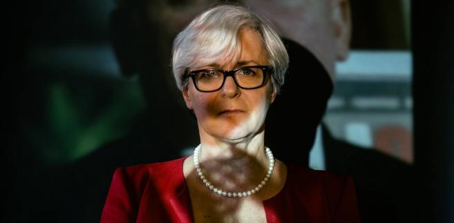 Joanna Kluzik-Rostkowska fot. Maksymilian Rigamonti