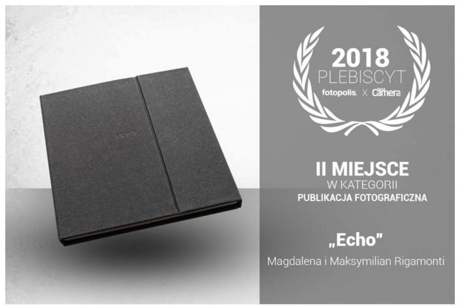 Magdalena i Maksymilian Rigamonti z nagrodą za Echo