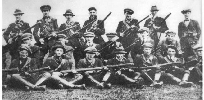 IRA, Irlandia, wojna