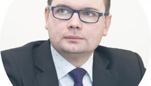 Adrian Mazur dyrektor departamentu strategii transportu w Ministerstwie Infrastruktury
