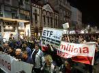 Serbowie wyszli na ulice w obronie wolnych mediów. Protesty trwają już czwarty miesiąc