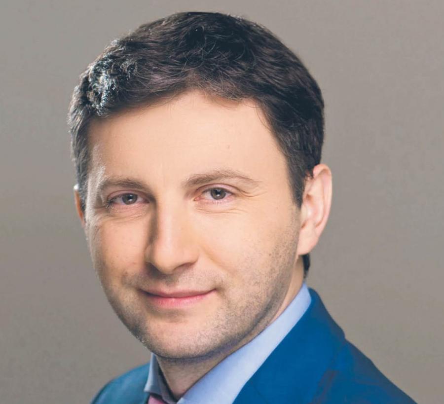 Andrzej Osiński, prezes spółki Bisnode Polska  fot. Materiały prasowe