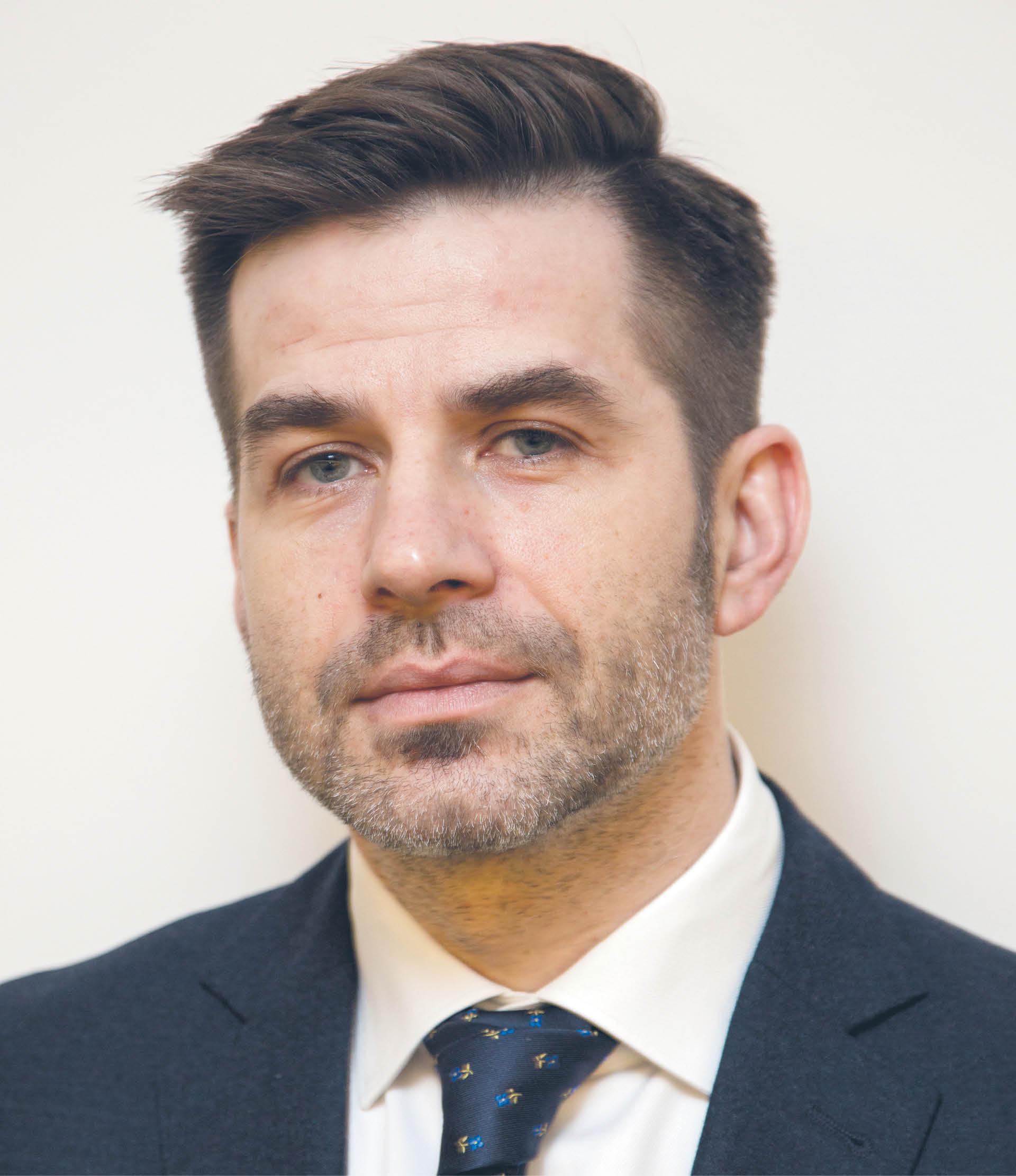 Piotr Drobek dyrektor Zespołu Strategii i Analiz w Urzędzie Ochrony Danych Osobowych