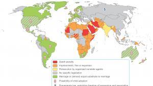 Sytuacja prawna osób homoseksualnych na świecie