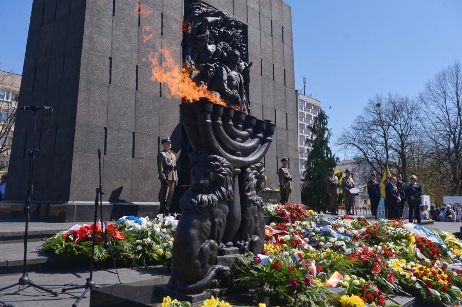 rocznica powstania w getcie