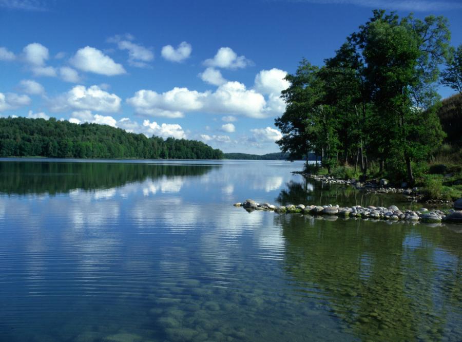 Hańcza jest najgłębszym jeziorem w Polsce