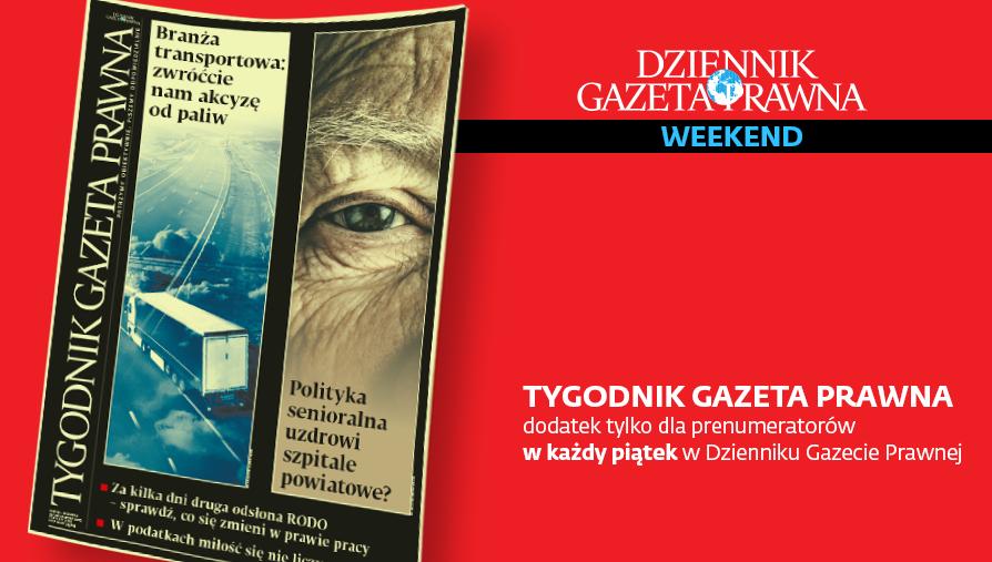 Tygodnik Gazeta Prawna z 26 kwietnia 2019