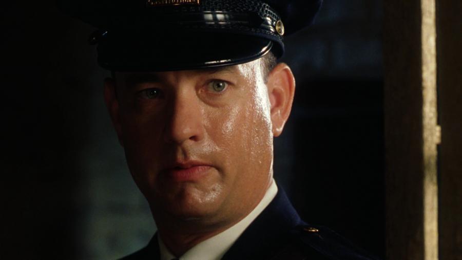 """Tom Hanks w filmie """"Zielona mila\"""