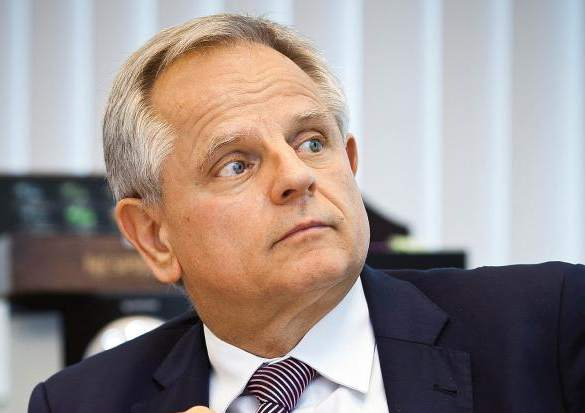 Krzysztof Kalicki prezes Deutsche Bank Polska (fot. Wojtek Górski)