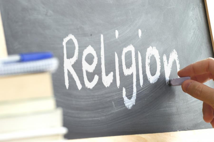 Lekcja religii. Szkoła
