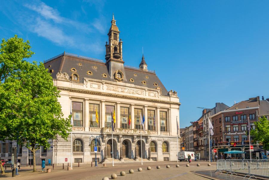 Charleroi w Belgii