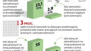 Kontrole niepracowniczego zatrudnienia w 2018 r.