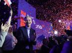 Biedroń o wynikach wyborów: Jesteśmy trzecią siłą polityczną w Polsce. Na jesieni musimy być pierwszą