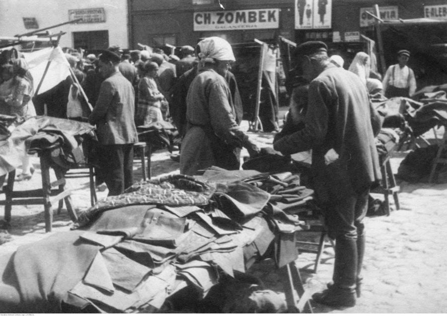 Targ w Radomsku (Źródło: NAC)