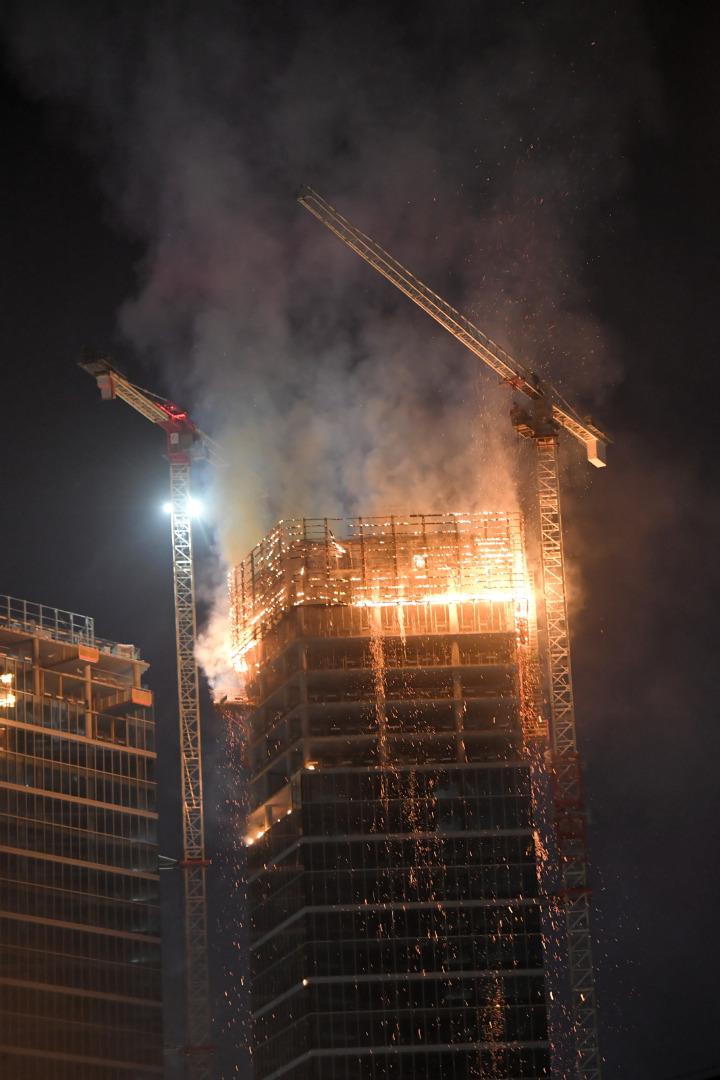 Pożar Warsaw HUB