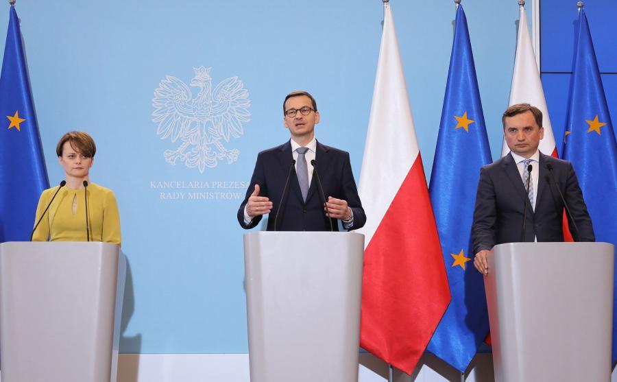 ateusz Morawiecki, Jadwiga Emilewicz, Zbigniew Ziobro