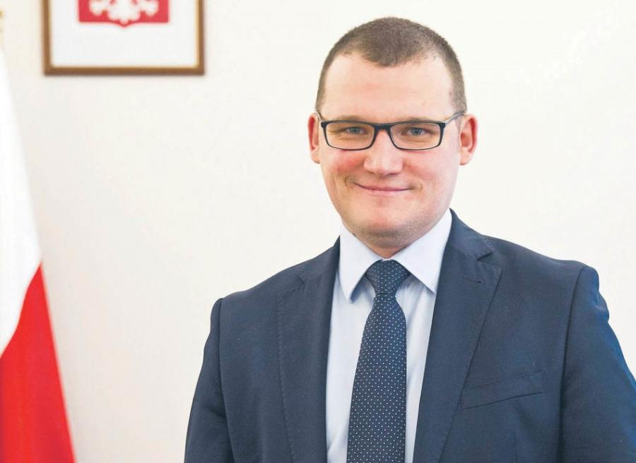 Paweł Szefernaker, wiceminister spraw wewnętrznych, pełnomocnik rządu ds. współpracy z samorządem terytorialnym  fot. Wojtek Górski