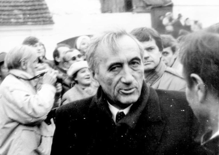 Tadeusz Mazowiecki, fot. Artur Klose / Wikimedia Commons