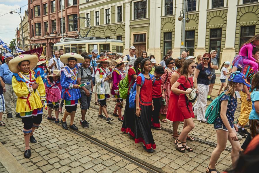 Brave Kids Parada we Wrocławiu Fot. Mateusz Bral