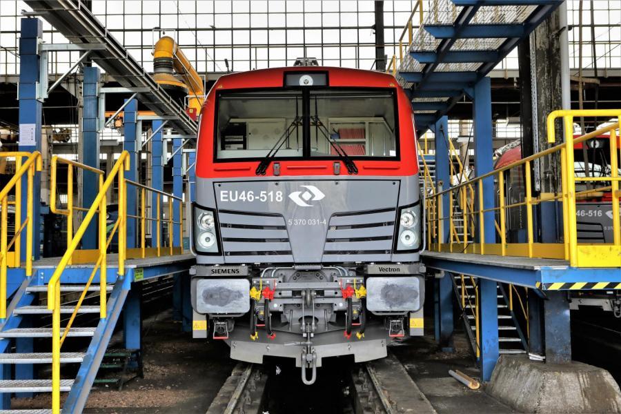 Nowe lokomotywy Vectron w barwach PKP CARGO