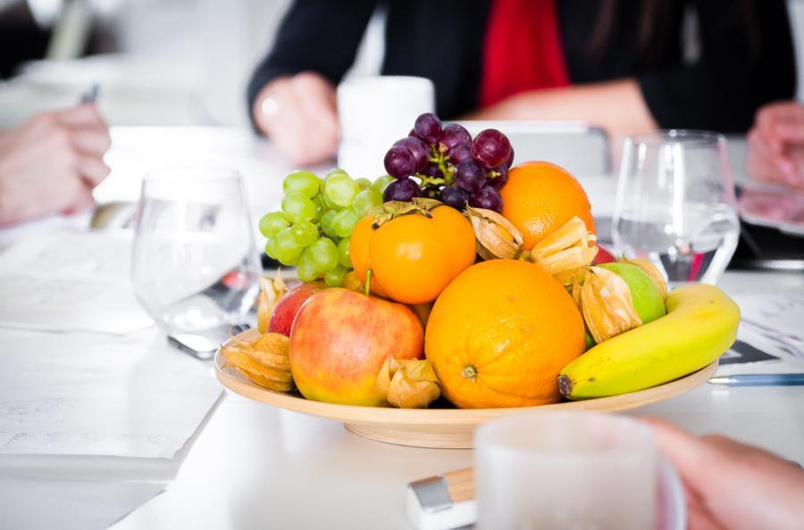 owoce w firmie