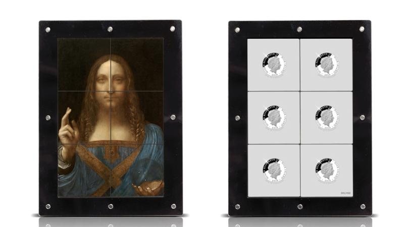 Salvator Mundi Leonarda da Vinci na monecie