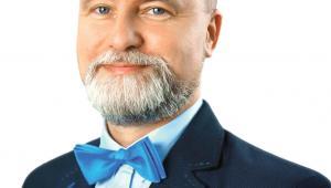 Przemysław Korcz burmistrz Ustronia, miasta uzdrowiskowego w Beskidach, oraz jednej z dziewięciu gmin, w których realizowany jest program ZONE  fot. Materiały prasowe